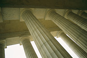Canova Prints - Columns Rising To The Ceiling Print by Todd Gipstein