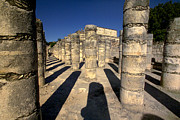 Warriors Photos - Columns with shadows at by Raul Touzon