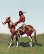 Comanche Brave Print by Frederic Remington
