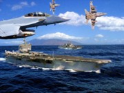 Sea Battle Art - Combat Air Patrol by Garry Staranchuk