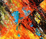 Jose Miguel Barrionuevo Metal Prints - Combustion Metal Print by Jose Miguel Barrionuevo