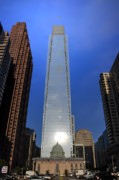 Center City Prints - Comcast Center - Philadelphia Print by Bill Cannon