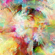 Come With Me Prints - Come Away Print by Margie Chapman