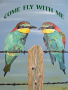 Greetings Card - Come Fly With Me by Eric Kempson