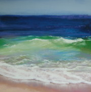 Wave Pastels - Come on in by Jeanne Rosier Smith