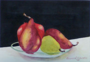 Still Life With Pears Prints - Come Ona My House Print by Raymond Schuster
