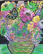 Childish Mixed Media - Come Spring II by Anne-Elizabeth Whiteway