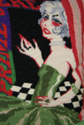Female Tapestries - Textiles - Come This Way by Daphne Sampson