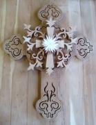 Hand Crafted Art - Come to the Cross by Michael Pasko
