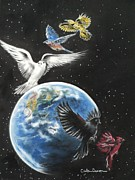Planet Pastels - Come Together by Carla Carson
