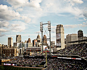 Detroit Photos - Comerica Park Detroit by Alanna Pfeffer