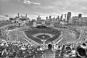 New York New York Com Digital Art Metal Prints - Comerica Park Metal Print by Nicholas  Grunas