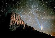 Perspective Imagery - Comet Hale-Bopp