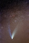 Comet Hale-bopp Framed Prints - Comet Hale-bopp Framed Print by Laurent Laveder