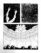 Anne Cameron Cutri - Comic for Selah project Psalm 104