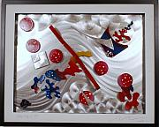 Frame Sculptures - Comic Strip 13 by Mac Worthington