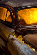 Antique Automobiles Photos - Coming Apart at the Seams by Wayne Stadler