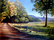 Appalachian Painting Prints - Coming Home Print by Susan Jenkins