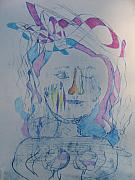 Emotional Drawings - Coming Out of the Pool of Despair by Marlene Robbins