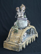 Fantasy Ceramics - Coming Through by Kathleen Raven