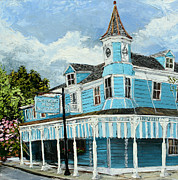 Restaurant Signs Paintings - Commanders palace by Vincent Thibodeaux