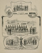Slavery Framed Prints - Commemorative Print Depicting The Trial Framed Print by Everett