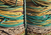 Ropes Prints - Commercial Fishing Ropes Print by Paul Edmondson