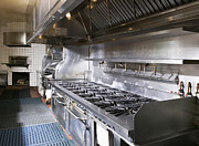 Burner Prints - Commercial Kitchen Print by Andersen Ross