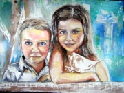 Anne-D Mejaki - Art About You productions - Commission Priceless