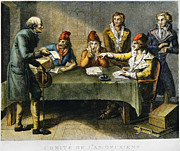 French Revolution Prints - Committee Of Public Safety Print by Granger