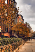 Commonwealth Prints - Commonwealth Avenue Boston Print by Joann Vitali