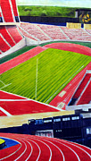 Commonwealth Stadium- Competition Print by Chris Ripley