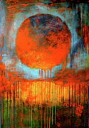 Large Abstract Acrylic Paintings - Communion by Betty OHare
