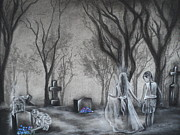 Haunting Drawings - Communion by Carla Carson