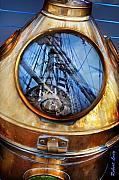 Sailing Ship Posters - Compass Poster by Robert Lacy