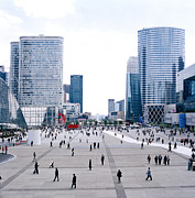Brave New World Prints - Complex de La Defense in Paris in France Print by Shaun Higson