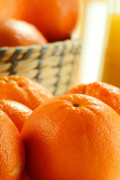 Food And Beverage Photo Originals - Composition with oranges by T Monticello