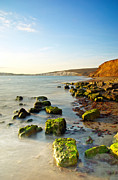 Summer Squall Framed Prints - Compton Bay Framed Print by Michael Stretton