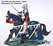 French Photo Originals - Comte de Dunois French Jean Bastard of Orleans by Valiant Knight