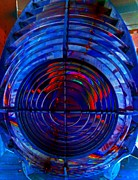 Red Framed Prints - Concentric Framed Print by Randall Weidner