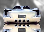 Concept Vette - Rear Print by Stephen Warren