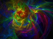 Multi Colored Digital Art - Conceptual Alchemy by Lyle Hatch