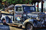 Old Trucks Art - Conch Truck by Joetta West