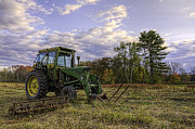 Concord Massachusetts Digital Art - Concord Tractor by Jose Vazquez