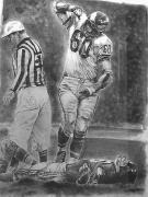 Philadelphia Eagles Drawings - Concrete Charlie by Paul Autodore