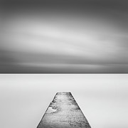 Concrete Framed Prints - Concrete Jetty Framed Print by Paul Simon Wheeler Photography