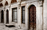 Wooden Building Art - Concubine  Court by Joan Carroll