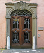 Lucca Photos - Condominium Door by Forest Alan Lee