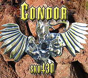 Belt Buckle Jewelry - Condor by Dire Needz