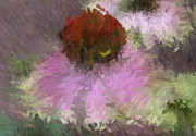 Impressionist Art Digital Art Prints - Cone of Beauty Art Print by Deborah Benoit